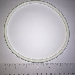 White Rubber Ring 6""