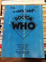 Dr Who Operations Manual - Original Used