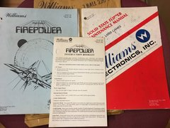 Firepower Operations Manual and Repair Manual - Original Used