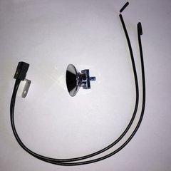 545-5409-01_077-5206-01 Lamp Socket - black base, chrome reflector Spotlight Kit