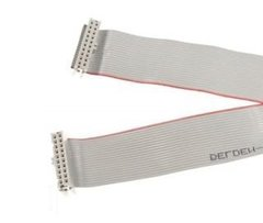 """5795-10703-45 Ribbon Cable 20-pin 45"""" Reversed Connectors"""