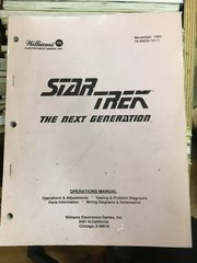 Star Trek The Next Generation STTNG Operations Manual - Original Used