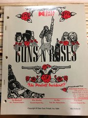 Guns N Roses GNR Operations Manual - Original Used