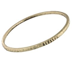 antique gold bangle - blessed