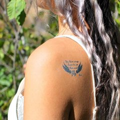 temporary tattoo - you have wings...