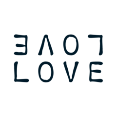temporary tattoo - love love