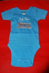 2015 Shrimp Festival Infant Onesies