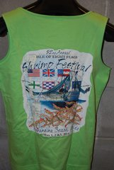 2015 Shrimp Festival Ladies Tanktop