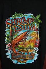 2014 Shrimp Festival Unisex Tshirts