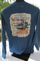 2015 Shrimp Festival Unisex Tshirts Long Sleeves