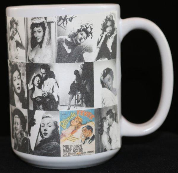 gloria grahame 15 oz photo collage mug bob s mugs n more