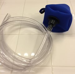 Kit - Med/Lrg - Shower Bootie w 7ft Drain tube & Fitting