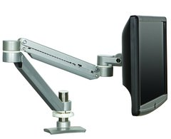 monitor arm, clamp mount