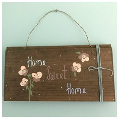 Home Sweet Home Hand Painted Plaque