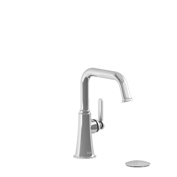 Bathroom Faucet - Riobel Momenti Single Hole Square MMSQS01J with ...