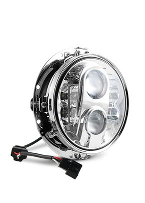 """7"""" LED HEADLIGHT FOR BAGGERS OR SOFTAILS"""
