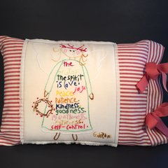 Fruit of the Spirit Pillow Cover