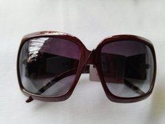 Brown Squared Fashion Sunglasses