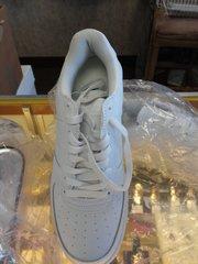 Leather Jordan Gym Shoes #2698