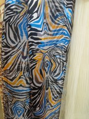 Blue and Black Scarf 5843