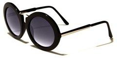 Wide Round Sunglasses #3081