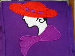 Cotton Red Hat Purse