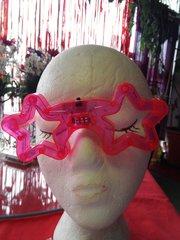 Pink Flashing Glasses #2861
