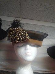 Brown/Leopard Hat #3218