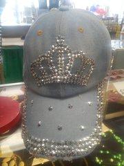 Crown Denim Cap #1434