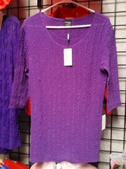 Purple Crushable Blouse