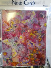 Butterfly Note Cards #2665