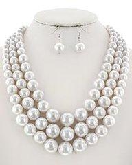White Pearls Set 3305