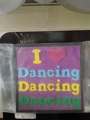 I Love Dancing Magnet