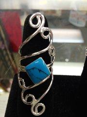 Art Nouveau Style Ring #2724