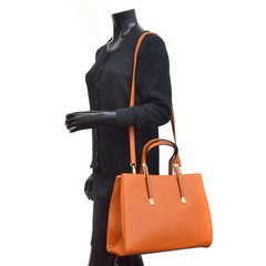 Fashioned Orange Purse #3108