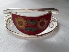 Wildflower Inlaid Bracelet