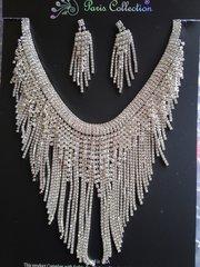 Chandelier Necklace Set #2920