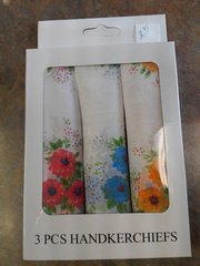 Ladies 3 pc Handkerchiefs