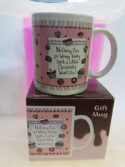 Nothing Can Go Wrong Chocolate Mug