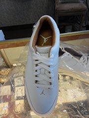 Leather Jordan Gym Shoes #2699