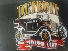 Detroit Motor City Magnet #3903