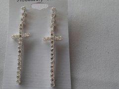Cross Earrings #3117