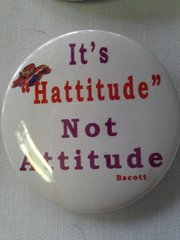 It's Hattitude Not Attitute  #2159
