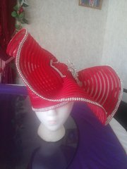Big Red 2 with brooch #3016