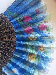 Blue Fan #3045