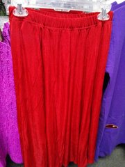 Red Slinky Skirt