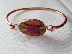 Yellow Wildflower Bracelet