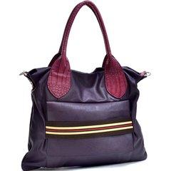 Purple Fashioned Stripe Purse #3110