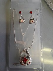 Nurse Necklace and Earring Set