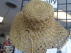 Brown Crochet Hat #2963